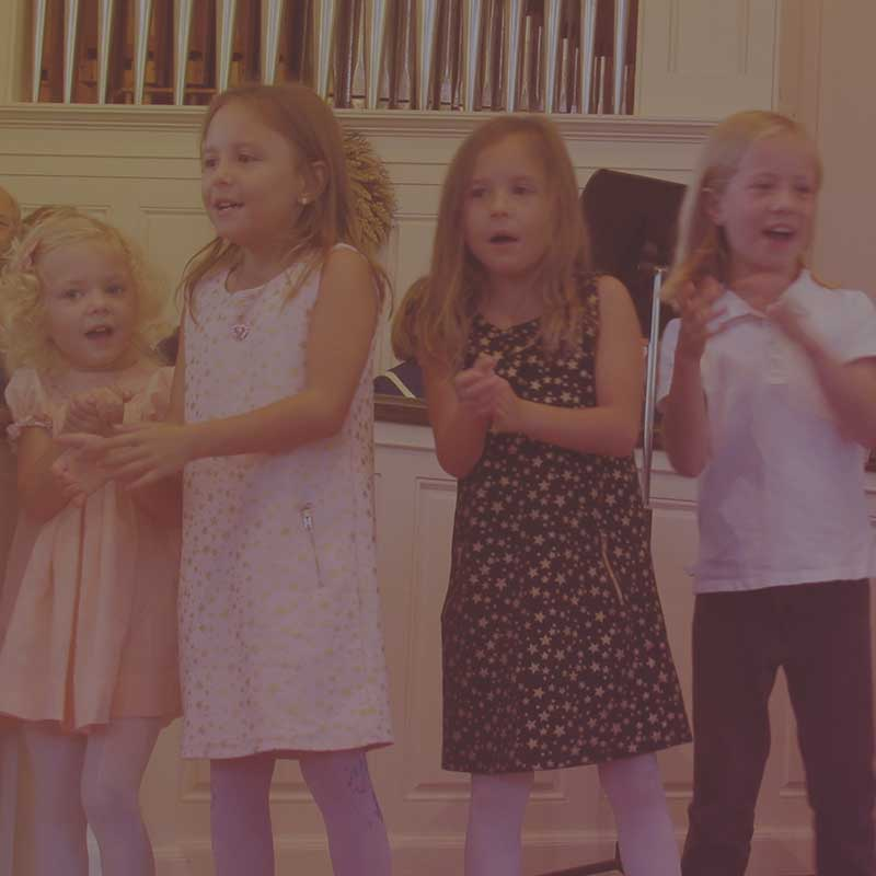 Learn more about Children's Choir
