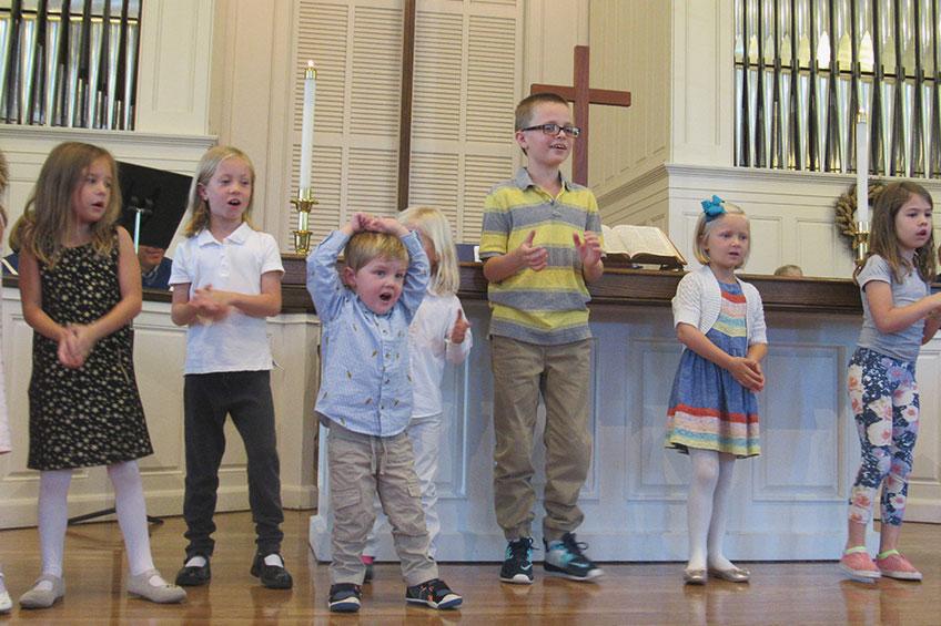 Children's Choir - North Shore Congregational Church