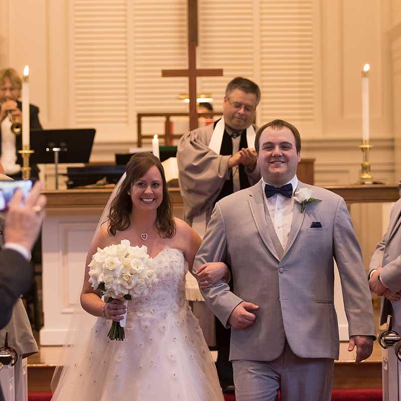 Weddings at North Shore Congregational Church