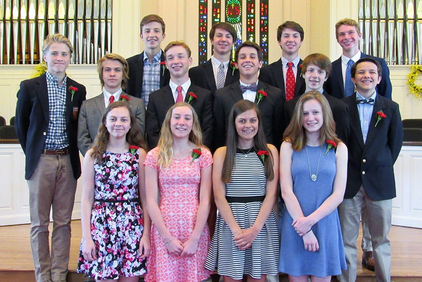Confirmation - North Shore Congregational Church