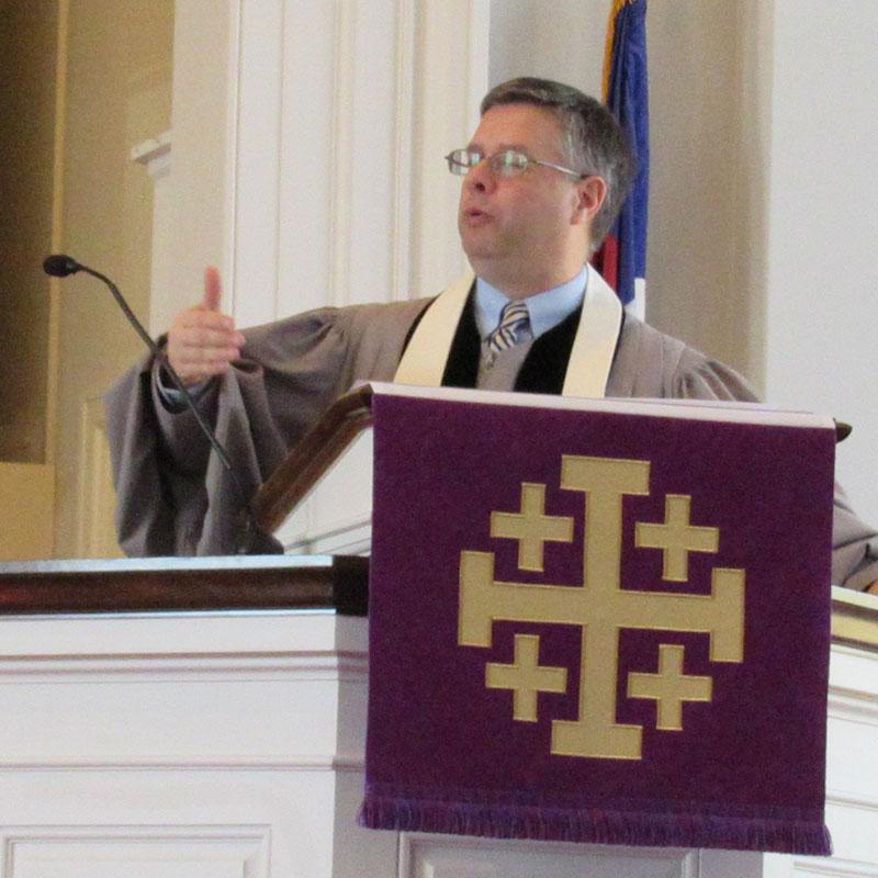 Rev Dr Martin Hall - North Shore Congregational Church